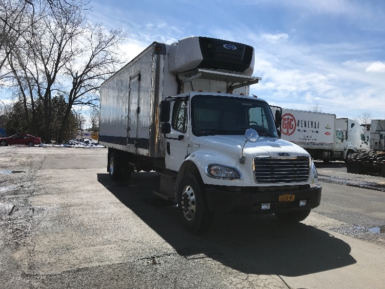 Reefer Truck-Light and Medium Duty Trucks-Freightliner-2015-M2-EAST SYRACUSE-NY-126,202 miles-$46,500