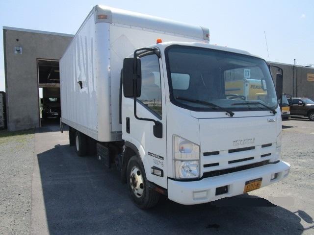 Medium Duty Box Truck-Light and Medium Duty Trucks-Isuzu-2014-NPR-ALBANY-NY-57,123 miles-$32,500