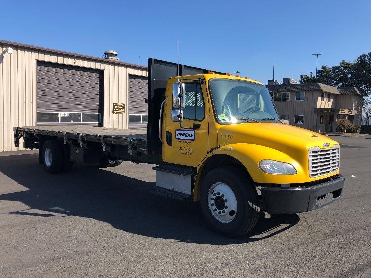Flatbed Truck-Light and Medium Duty Trucks-Freightliner-2015-M2-PORTLAND-OR-68,642 miles-$53,750