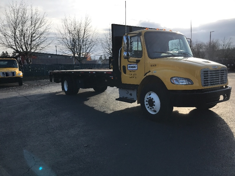 Flatbed Truck-Light and Medium Duty Trucks-Freightliner-2015-M2-MEDFORD-OR-65,159 miles-$55,000