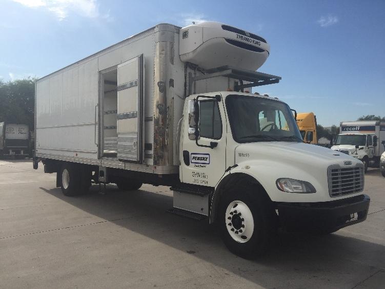 Reefer Truck-Light and Medium Duty Trucks-Freightliner-2015-M2-PHOENIX-AZ-82,311 miles-$77,000