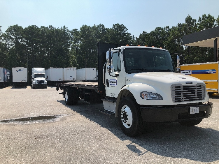 Flatbed Truck-Light and Medium Duty Trucks-Freightliner-2015-M2-COLUMBUS-GA-76,572 miles-$65,750