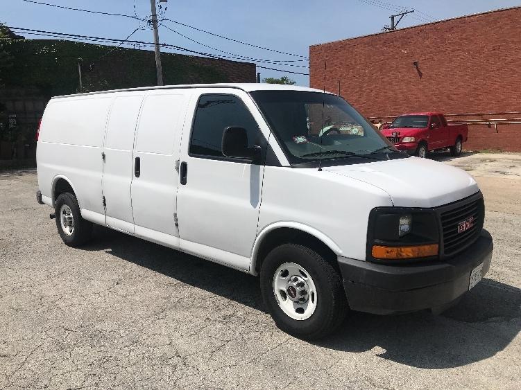 Cargo Van (Panel Van)-Light and Medium Duty Trucks-GMC-2014-Savana G23705-CHICAGO-IL-59,722 miles-$21,250