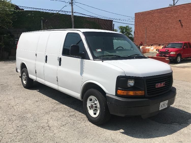Cargo Van (Panel Van)-Light and Medium Duty Trucks-GMC-2014-Savana G23705-CHICAGO-IL-54,758 miles-$21,750