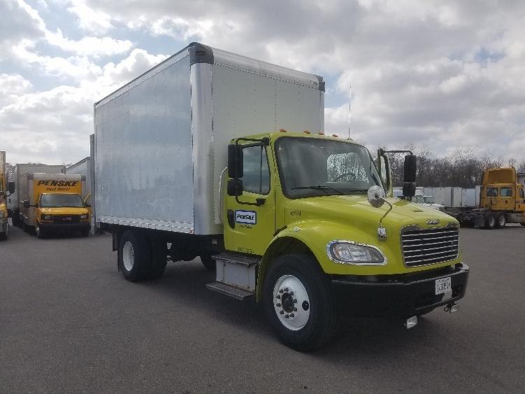 Medium Duty Box Truck-Light and Medium Duty Trucks-Freightliner-2015-M2-ELK GROVE VILLAGE-IL-63,787 miles-$54,750