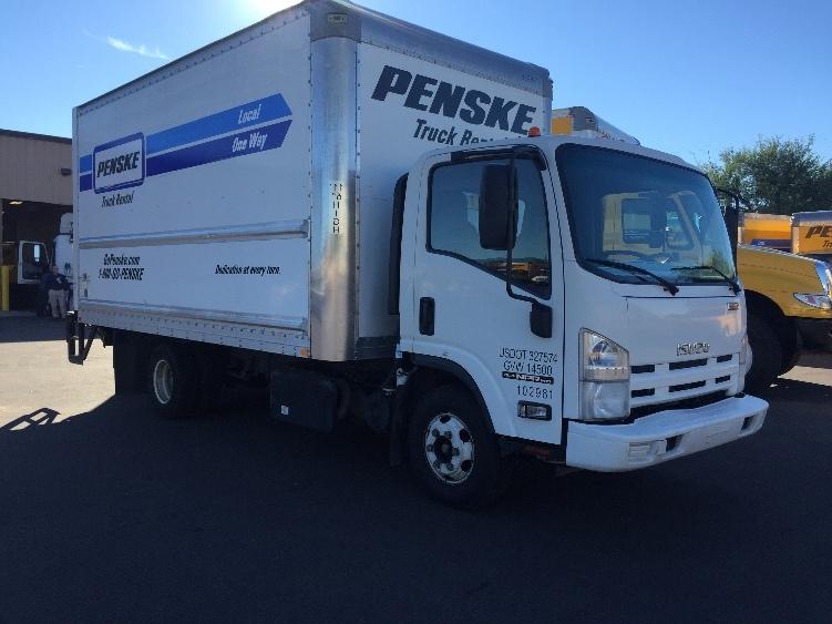 Medium Duty Box Truck-Light and Medium Duty Trucks-Isuzu-2015-NPR-TUCSON-AZ-119,587 miles-$30,750