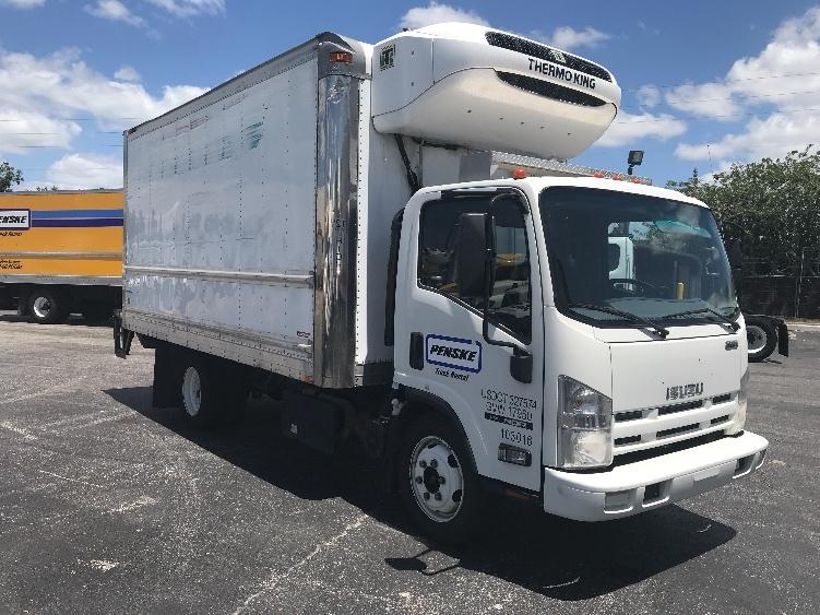 Reefer Truck-Light and Medium Duty Trucks-Isuzu-2015-NQR-ORLANDO-FL-116,806 miles-$42,750