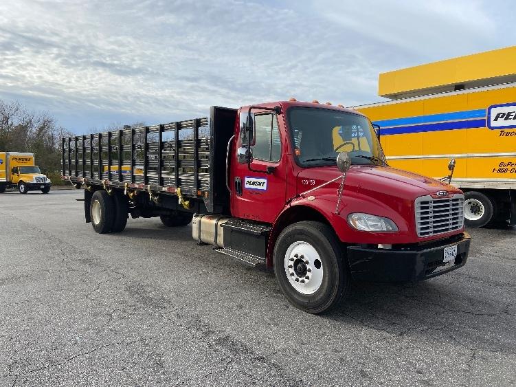 Flatbed Truck-Light and Medium Duty Trucks-Freightliner-2015-M2-NORFOLK-VA-88,353 miles-$41,250