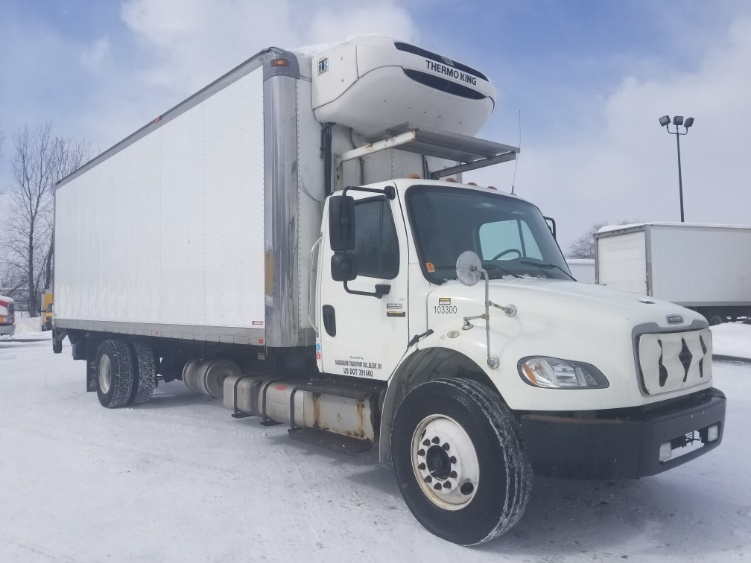 Reefer Truck-Light and Medium Duty Trucks-Freightliner-2015-M2-ROSEVILLE-MN-222,224 miles-$38,250