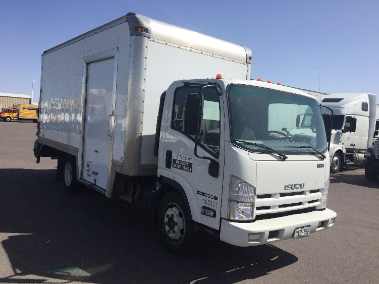 Medium Duty Box Truck-Light and Medium Duty Trucks-Isuzu-2014-NQR-DENVER-CO-88,213 miles-$34,750