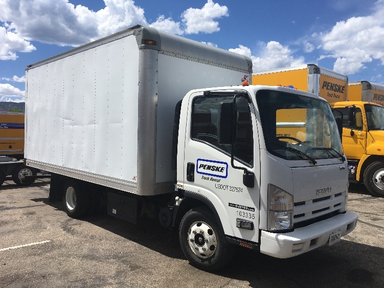 Medium Duty Box Truck-Light and Medium Duty Trucks-Isuzu-2014-NPR-AURORA-CO-128,099 miles-$27,250