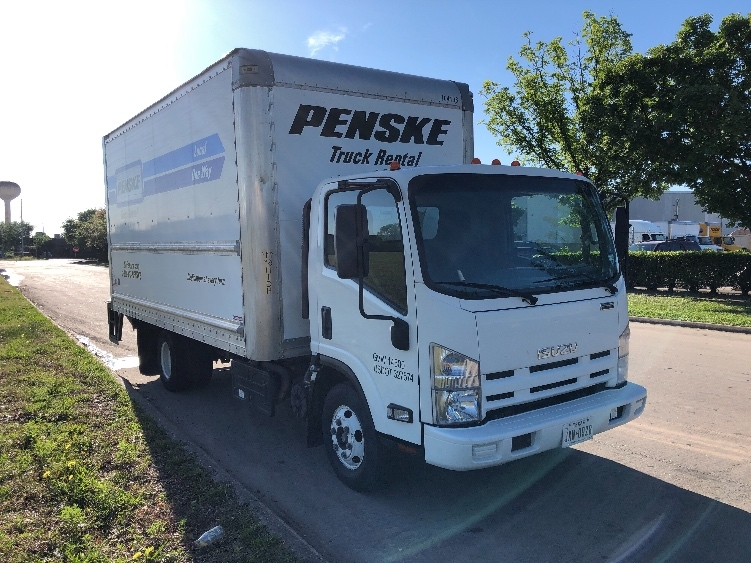 Medium Duty Box Truck-Light and Medium Duty Trucks-Isuzu-2015-NPR-HOUSTON-TX-83,891 miles-$35,000