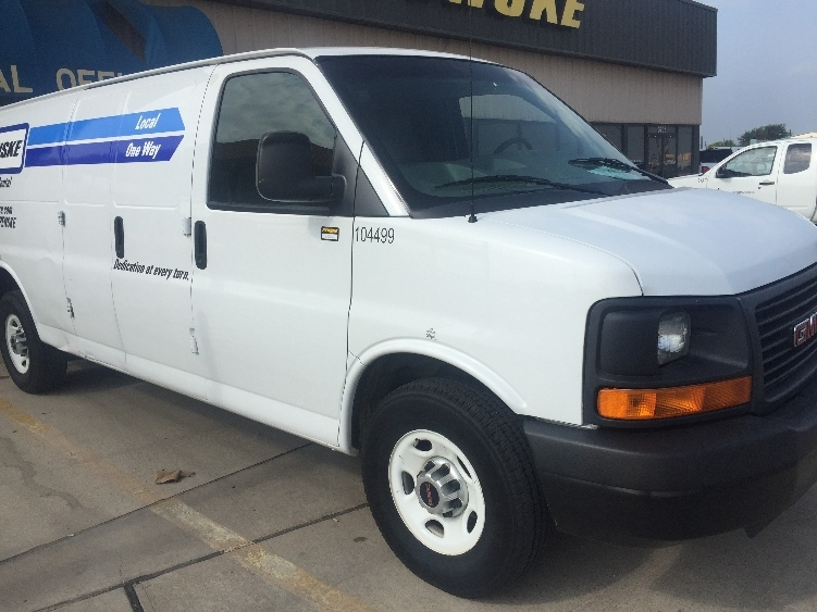 Cargo Van (Panel Van)-Light and Medium Duty Trucks-GMC-2014-Savana G23705-DALLAS-TX-82,355 miles-$18,750