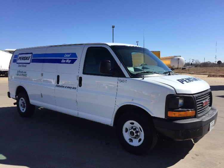 Cargo Van (Panel Van)-Light and Medium Duty Trucks-GMC-2014-Savana G23705-LUBBOCK-TX-90,376 miles-$18,000