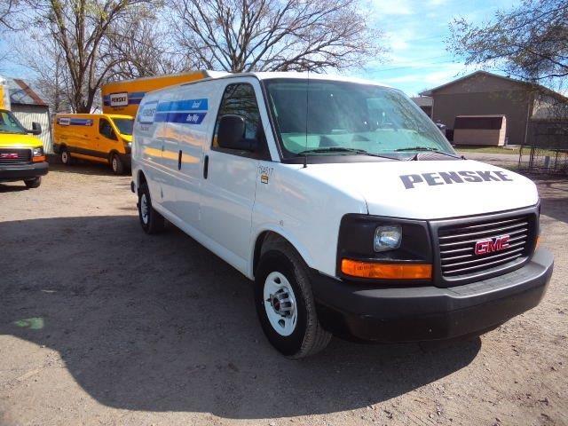 Cargo Van (Panel Van)-Light and Medium Duty Trucks-GMC-2014-Savana G23705-LOWELL-AR-90,505 miles-$18,000