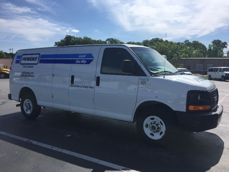 Cargo Van (Panel Van)-Light and Medium Duty Trucks-GMC-2014-Savana G23705-LITTLE ROCK-AR-59,659 miles-$21,250