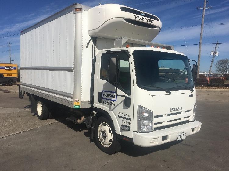 Reefer Truck-Light and Medium Duty Trucks-Isuzu-2015-NQR-HOUSTON-TX-76,678 miles-$49,000