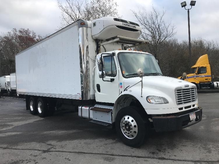 Reefer Truck-Light and Medium Duty Trucks-Freightliner-2015-M2-NEW BEDFORD-MA-214,350 miles-$48,500