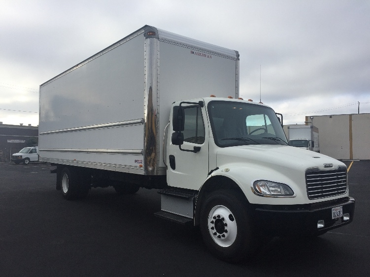 Medium Duty Box Truck-Light and Medium Duty Trucks-Freightliner-2015-M2-SAN LEANDRO-CA-26,881 miles-$59,500