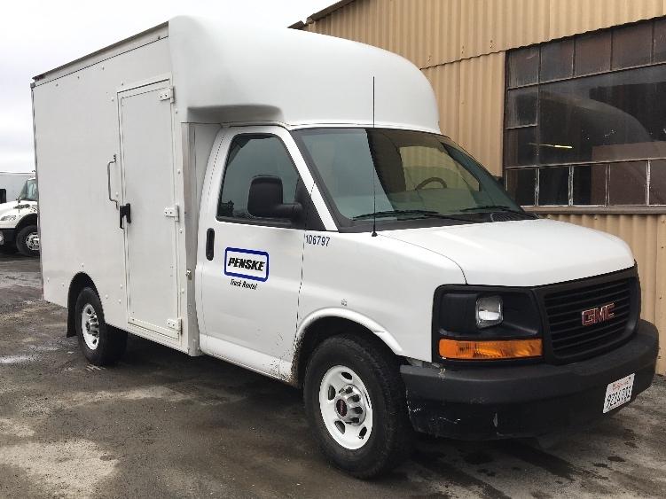 Light Duty Box Truck-Light and Medium Duty Trucks-GMC-2014-Savana G33503-SANTA ROSA-CA-64,398 miles-$26,500