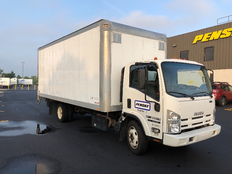 Medium Duty Box Truck-Light and Medium Duty Trucks-Isuzu-2015-NRR-EAST CHICAGO-IN-163,482 miles-$33,250