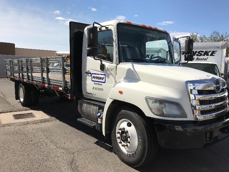 Flatbed Truck-Light and Medium Duty Trucks-Hino-2015-268-PHOENIX-AZ-91,416 miles-$51,500