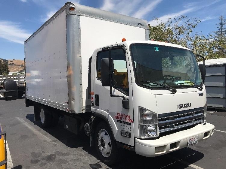 Medium Duty Box Truck-Light and Medium Duty Trucks-Isuzu-2015-NQR-HAYWARD-CA-72,427 miles-$44,250