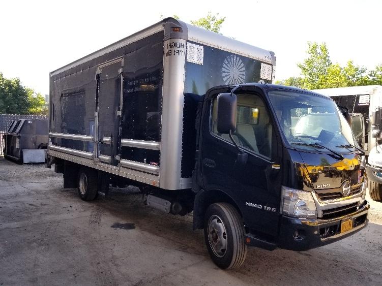 Medium Duty Box Truck-Light and Medium Duty Trucks-Hino-2015-195-ELMSFORD-NY-110,882 miles-$39,000
