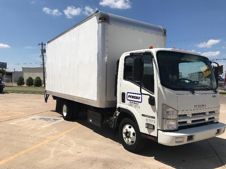Medium Duty Box Truck-Light and Medium Duty Trucks-Isuzu-2015-NPR-OKLAHOMA CITY-OK-101,018 miles-$32,500
