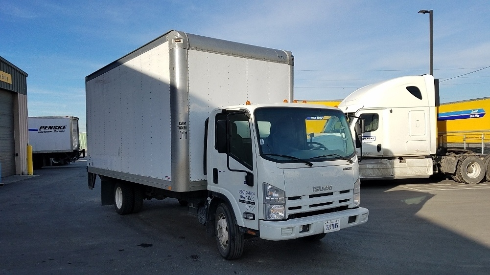 Medium Duty Box Truck-Light and Medium Duty Trucks-Isuzu-2015-NPR EFI-SPOKANE VALLEY-WA-118,777 miles-$30,750