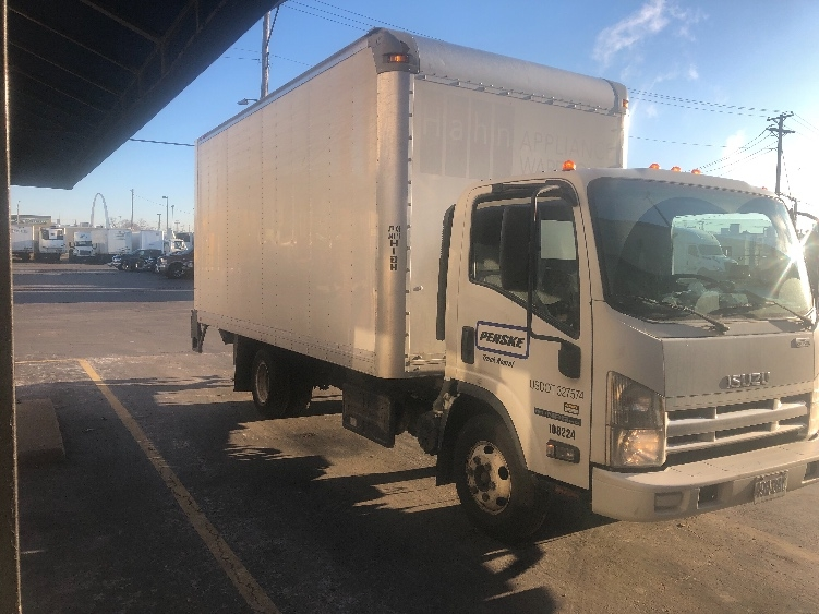 Medium Duty Box Truck-Light and Medium Duty Trucks-Isuzu-2015-NPR-SAINT LOUIS-MO-95,237 miles-$31,500