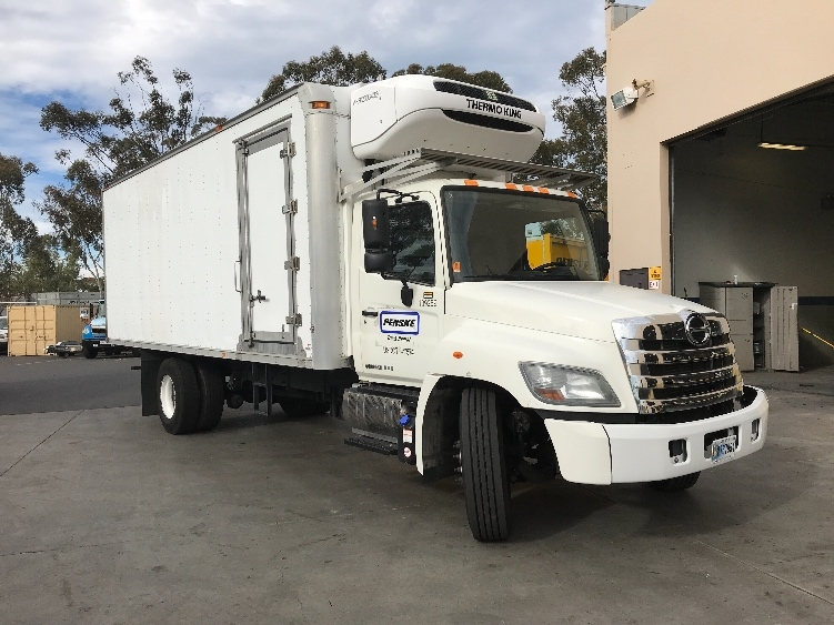 Reefer Truck-Light and Medium Duty Trucks-Hino-2015-268-TORRANCE-CA-113,940 miles-$55,500