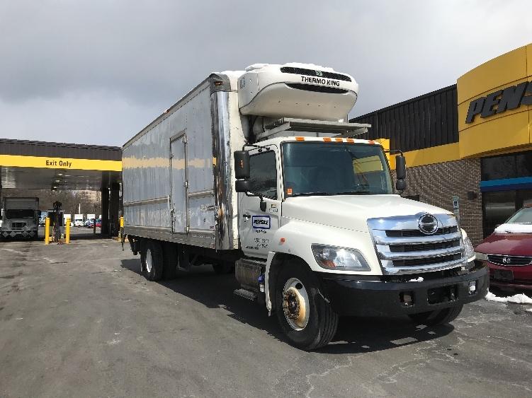 Reefer Truck-Light and Medium Duty Trucks-Hino-2015-268-LANCASTER-PA-183,844 miles-$50,750