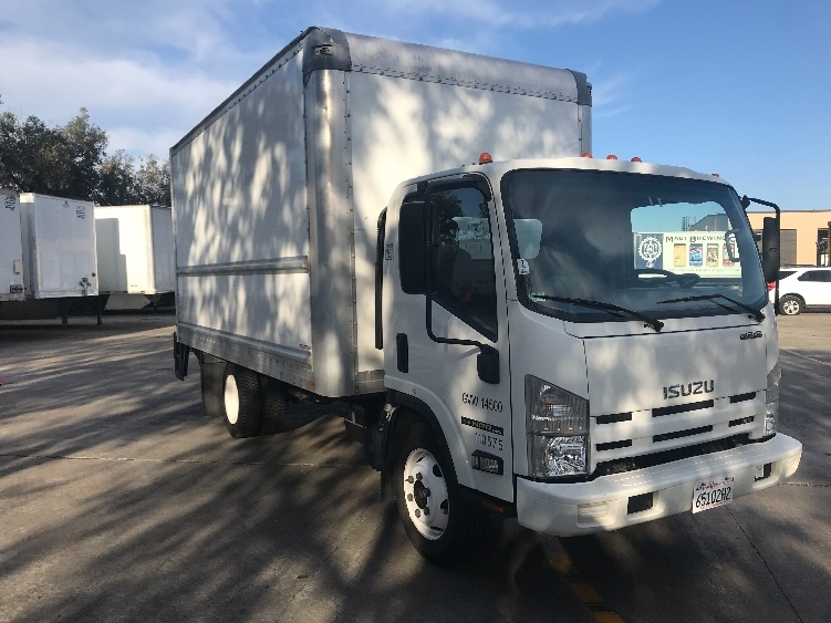 Medium Duty Box Truck-Light and Medium Duty Trucks-Isuzu-2015-NPR EFI-TORRANCE-CA-74,793 miles-$35,750
