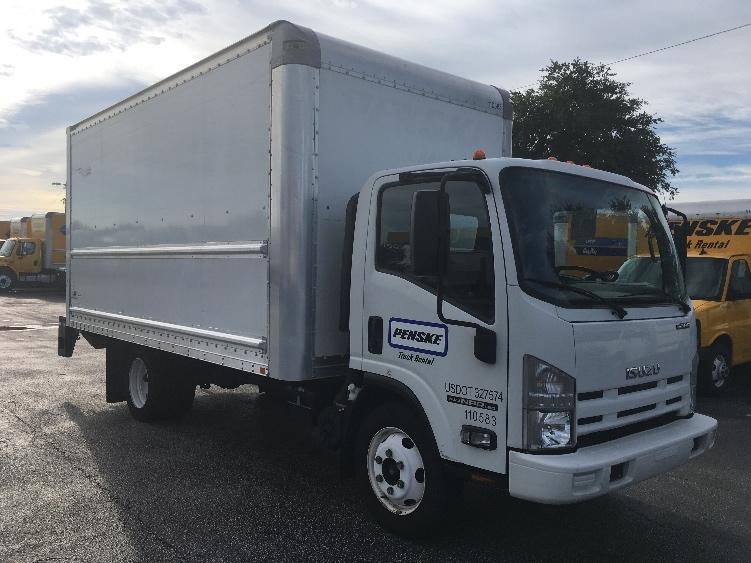 Medium Duty Box Truck-Light and Medium Duty Trucks-Isuzu-2015-NPR EFI-ORLANDO-FL-99,200 miles-$31,250