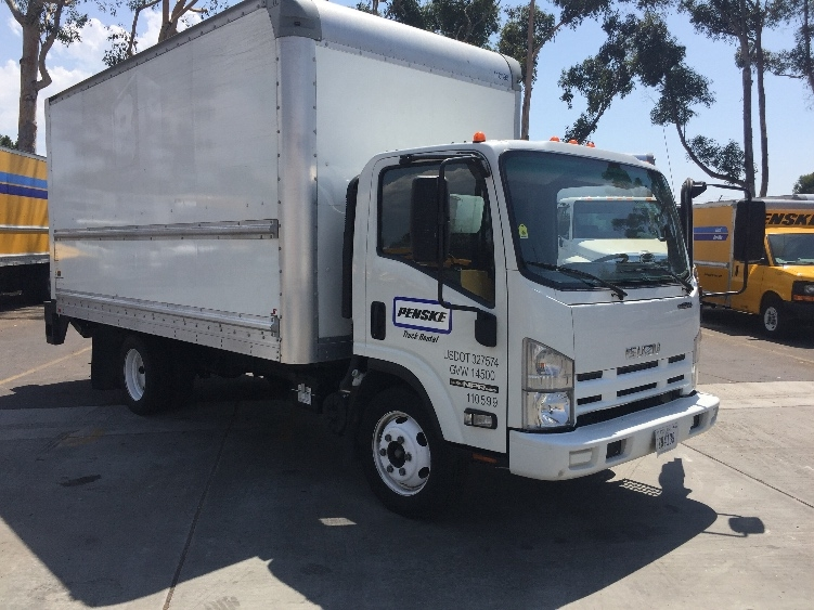 Medium Duty Box Truck-Light and Medium Duty Trucks-Isuzu-2015-NPR EFI-TORRANCE-CA-103,001 miles-$29,250
