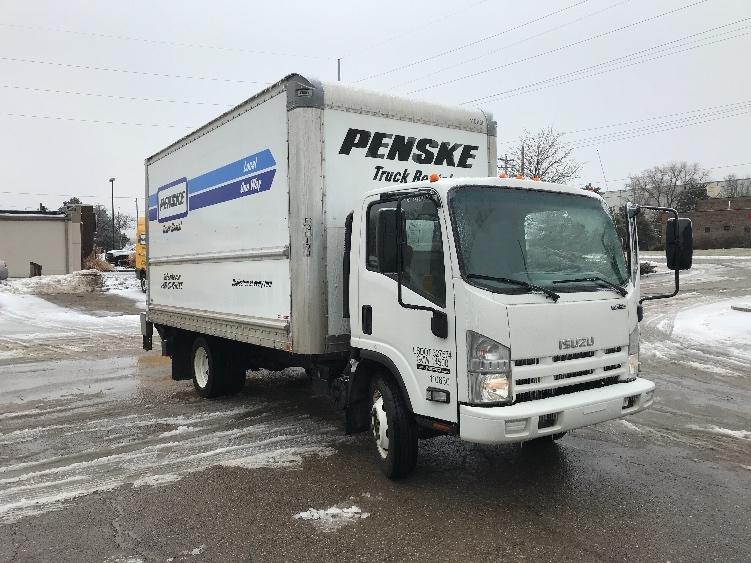 Medium Duty Box Truck-Light and Medium Duty Trucks-Isuzu-2015-NPR EFI-LANSING-MI-90,165 miles-$30,250