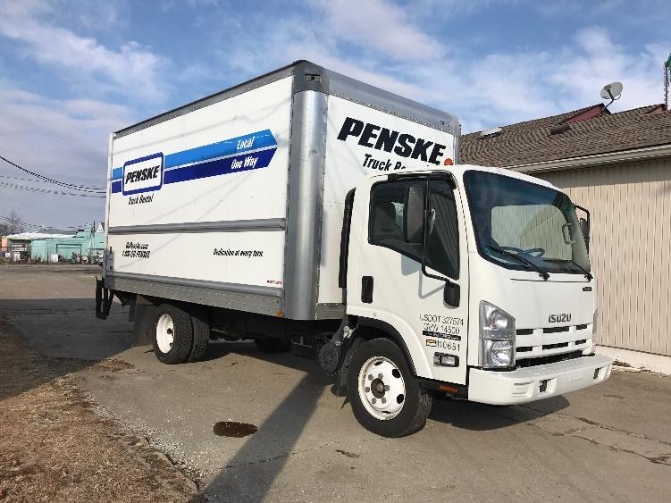 Medium Duty Box Truck-Light and Medium Duty Trucks-Isuzu-2015-NPR EFI-INDIANAPOLIS-IN-113,397 miles-$25,500