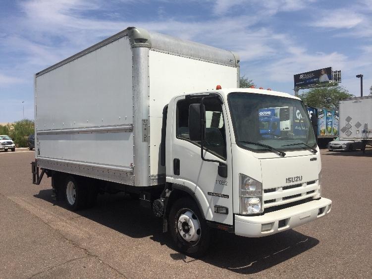 Medium Duty Box Truck-Light and Medium Duty Trucks-Isuzu-2015-NPR EFI-PHOENIX-AZ-45,102 miles-$39,250
