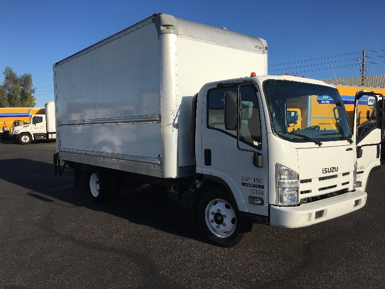 Medium Duty Box Truck-Light and Medium Duty Trucks-Isuzu-2015-NPR EFI-PHOENIX-AZ-73,548 miles-$38,000