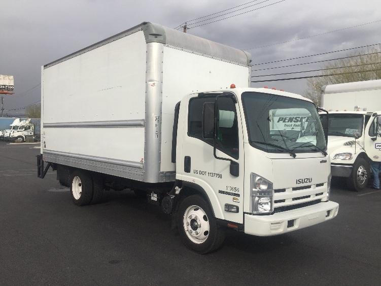 Medium Duty Box Truck-Light and Medium Duty Trucks-Isuzu-2015-NPR EFI-LAS VEGAS-NV-48,364 miles-$36,250