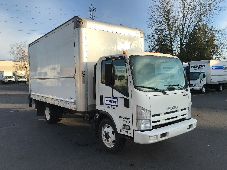 Medium Duty Box Truck-Light and Medium Duty Trucks-Isuzu-2015-NPR EFI-WILSONVILLE-OR-79,198 miles-$36,750