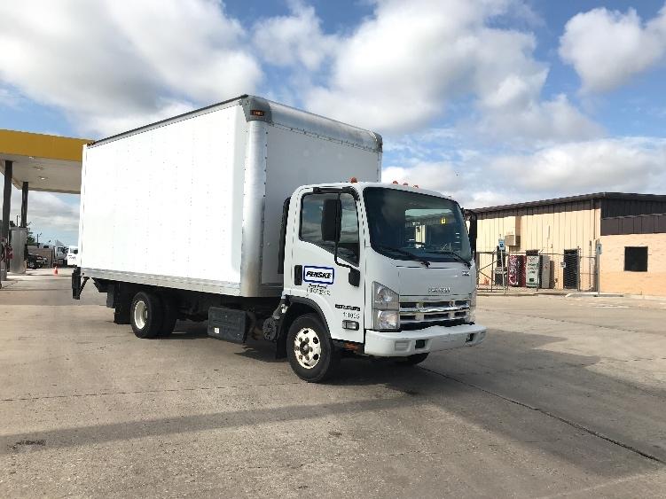 Medium Duty Box Truck-Light and Medium Duty Trucks-Isuzu-2015-NPR-OKLAHOMA CITY-OK-87,807 miles-$33,250