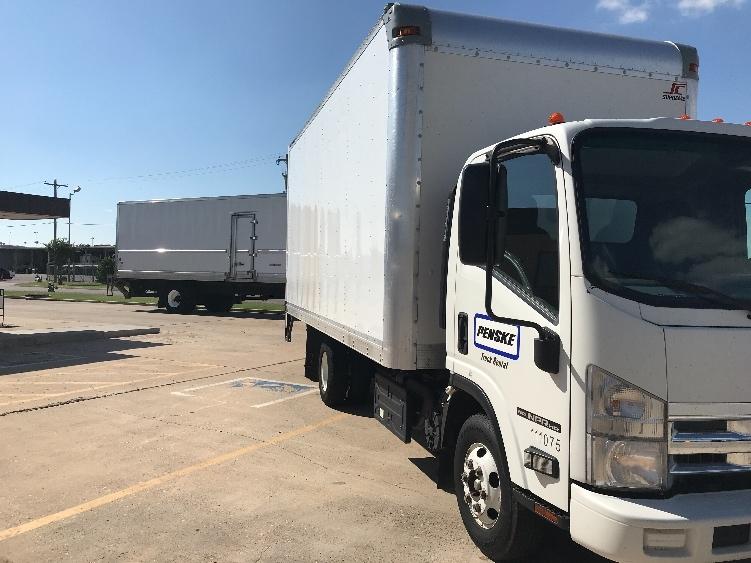 Medium Duty Box Truck-Light and Medium Duty Trucks-Isuzu-2015-NPR-OKLAHOMA CITY-OK-90,455 miles-$33,250