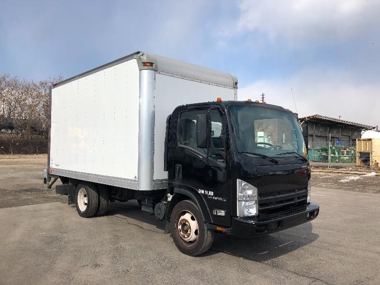 Medium Duty Box Truck-Light and Medium Duty Trucks-Isuzu-2015-NPR EFI-PHILADELPHIA-PA-91,317 miles-$28,500