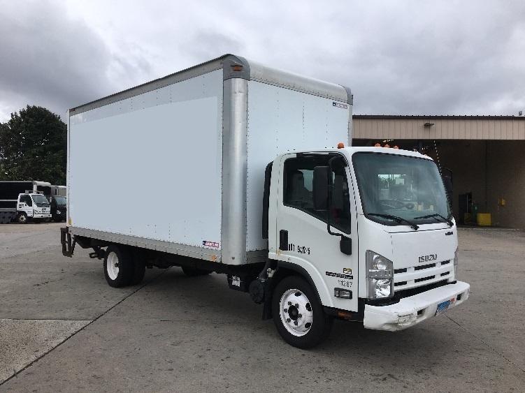 Medium Duty Box Truck-Light and Medium Duty Trucks-Isuzu-2015-NPR EFI-HARTFORD-CT-139,531 miles-$19,500