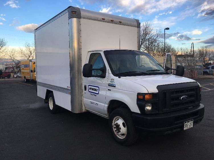 Light Duty Box Truck-Light and Medium Duty Trucks-Ford-2015-E350-SACRAMENTO-CA-54,780 miles-$27,750