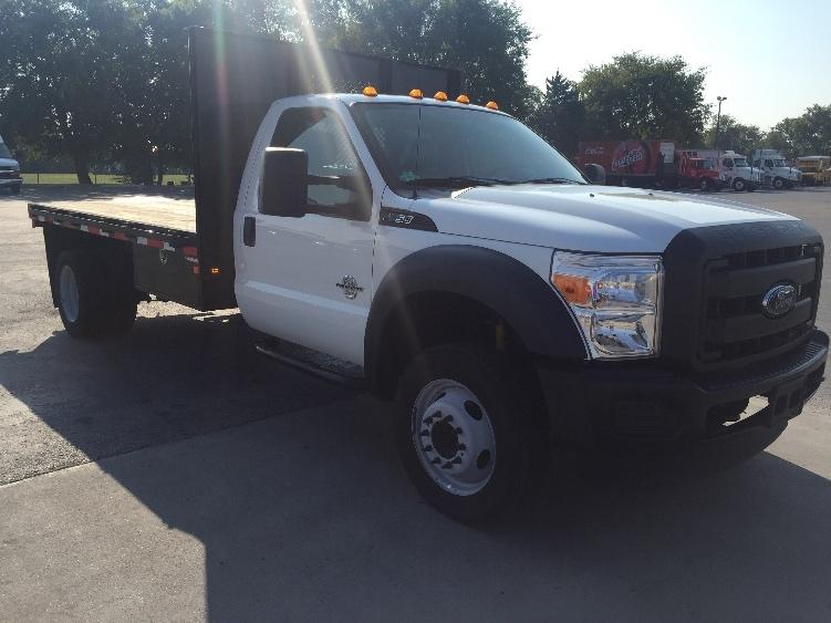Flatbed Truck-Light and Medium Duty Trucks-Ford-2015-F550-TULSA-OK-139,015 miles-$41,500