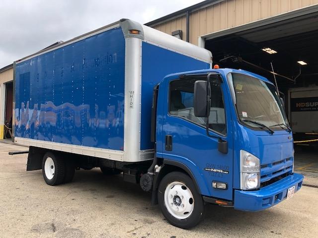 Medium Duty Box Truck-Light and Medium Duty Trucks-Isuzu-2015-NPR EFI-BRAINTREE-MA-108,431 miles-$23,000