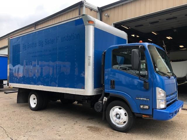 Medium Duty Box Truck-Light and Medium Duty Trucks-Isuzu-2015-NPR EFI-BRAINTREE-MA-112,625 miles-$22,500
